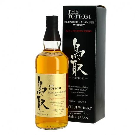 The TOTTORI Blended Whisky Japonais Fut de Bourbon