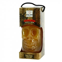 PUNCH au RHUM Bouteille Skull  Henry Every Long Ben by Quai Sud