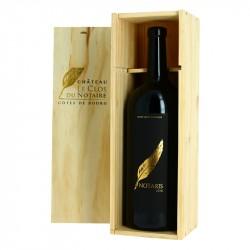 CLOS DU NOTAIRE Cuvée NOTARIS Vin Rouge Côtes de Bourg DOUBLE MAGNUM 3 l