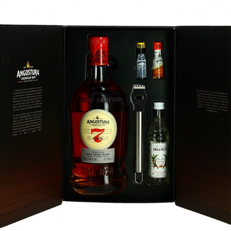 ANGOSTURA Coffret Old Fashioned  Rhum 7 ans