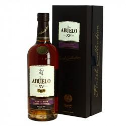 ABUELO NAPOLEON 15 ans Rhum du Panama finition fût de Cognac