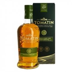 TOMATIN 12 ans Highland Single Malt Scotch Whisky