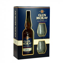 Glen Moray Elgin Classic Speyside Whisky Coffret + 2 verres