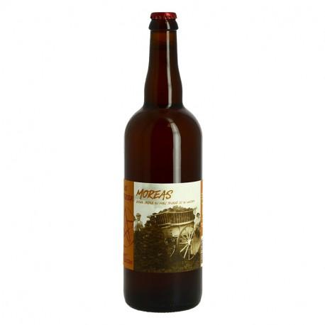 La MOREAS Bière Triple Tourbée au Malt a Whisky