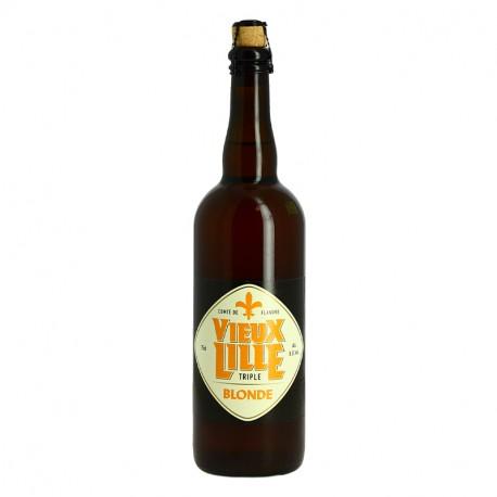 Bière Vieux Lille Triple 75cl