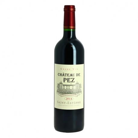 Château de Pez 2014 Saint ESTEPHE Vin Rouge de Bordeaux