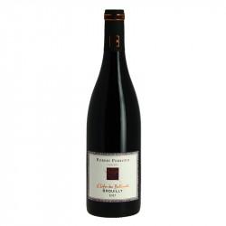 """Vin Rouge BROUILLY du Beaujolais Cuvée """"L'enfer de Balloquets"""" par Robert Perroud"""