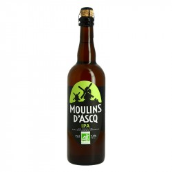 MOULINS D'ASCQ Bière Blonde IPA BIO 75 cl