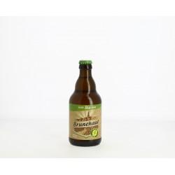Brunehaut Bière Belge BLONDE  BIO Sans Gluten  33 cl