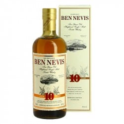 BEN NEVIS 10 ans Highland single Malt Scotch Whisky