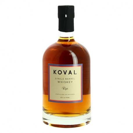 KOVAL American Single Barrel RYE Whiskey BIO