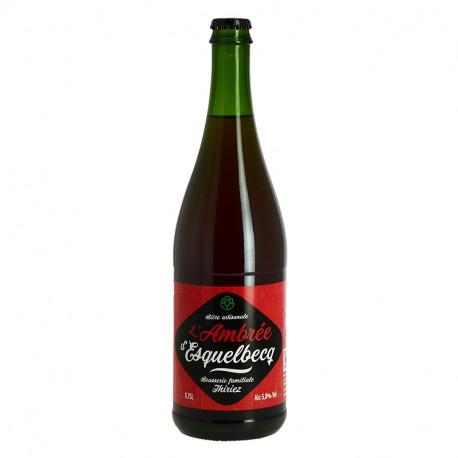 ESQUELBECQ Bière Ambrée 75 CL