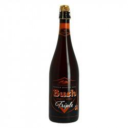 BUSH TRIPLE Bière Belge AMBREE