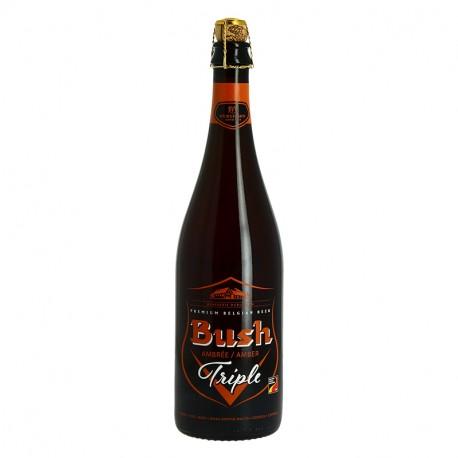 BUSH TRIPLE Bière Belge Ambrée75 cl