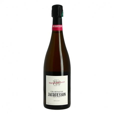 Champagne JACQUESSON Cuvée 738 Dégorgement Tardif