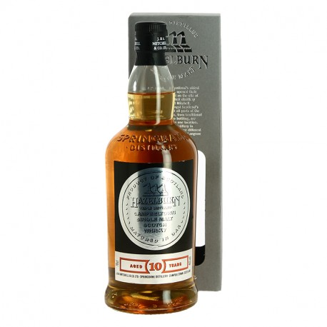 HAZELBURN 10 ans Campbeltown Single Malt Whisky