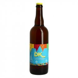 La DK Bière BLONDE Artisanale des Flandres 75 cl
