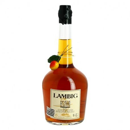 Eau de vie de cidre de bretagne Lambig fisselier 70cl