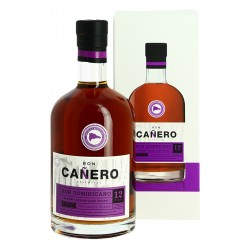 Rhum CANERO Sherry Cream Cask Finish 12 ans Rhum République Dominicaine