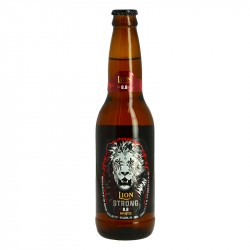 LION STRONG Bière Blonde du Sri Lanka