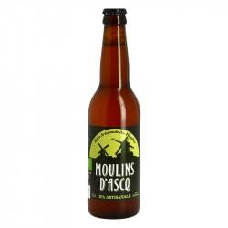 MOULINS D'ASCQ Bière Blonde IPA BIO 33 cl