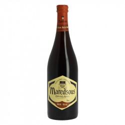 Bière Belge d'abbaye Brune MAREDSOUS de tradition bénédictine 75 cl