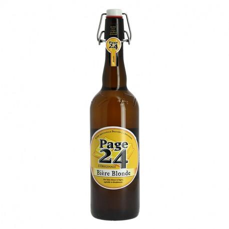 Page 24 Bière de Garde Blonde 75 cl