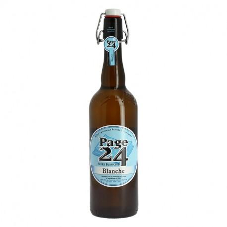PAGE 24 Bière Blanche 75 cl