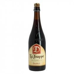 La Trappe Dubbel Bière Trappiste Brune de Hollande 75 cl