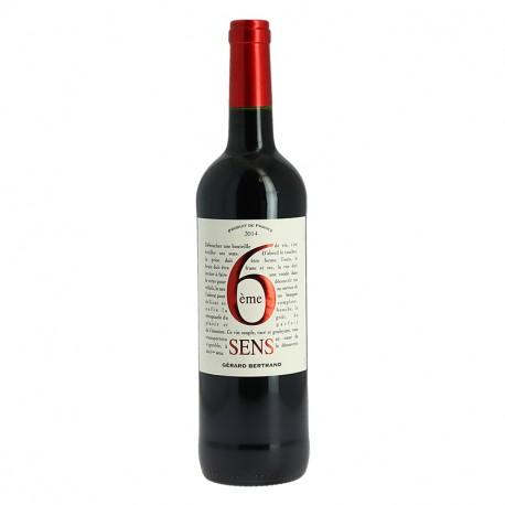 6ème SENS Rouge par GERARD BERTRAND vin rouge du Languedoc