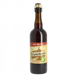 Bière Brunehaut Ambrée BIO 75cl Sans Gluten