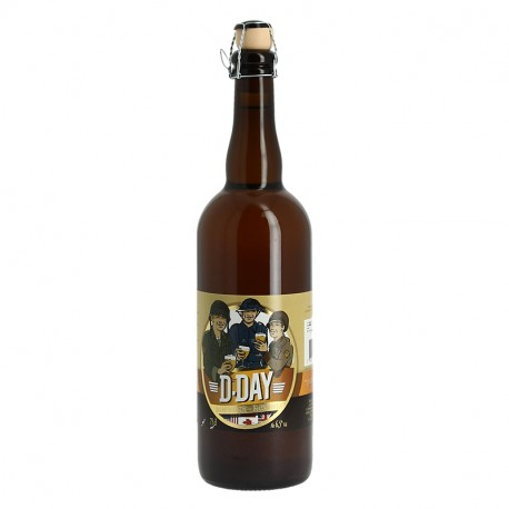 D-DAY Bière Blonde 75CL
