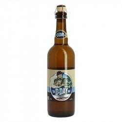 D-DAY Bière Blanche Aromatisée POMME 75 cl