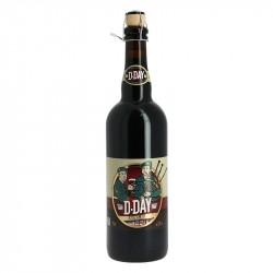 D-DAY Bière NOIRE 75 cl