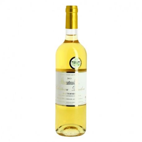 DUDON SAUTERNES 2013 75 cl Vin Blanc Liquoreux