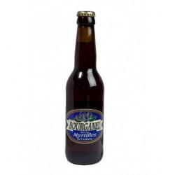 Bière artisanale Bourganel Myrtilles 33cl