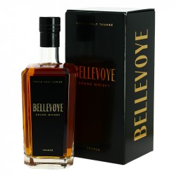 Whisky BELLEVOYE NOIR Triple Malt Tourbé