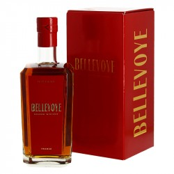 Whisky Bellevoye Rouge Triple Malt avec Finition en Futs de Banyuls