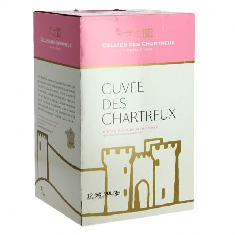 CELLIER des CHARTREUX Rosé BIB 5 Litres