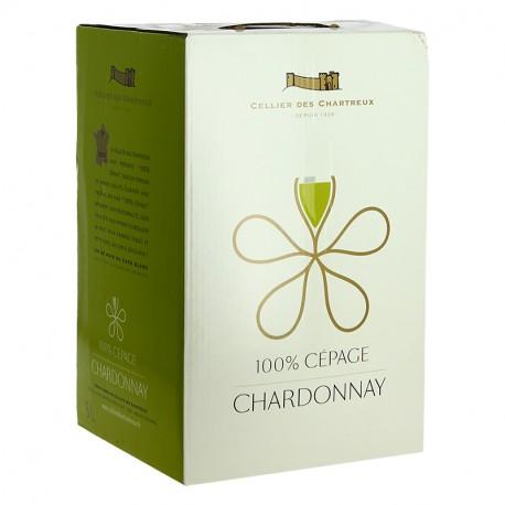 CELLIER des CHARTREUX Chardonnay BIB 5 Litres