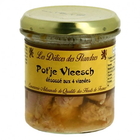 Potjevleesch Desossé aux 4 Viandes