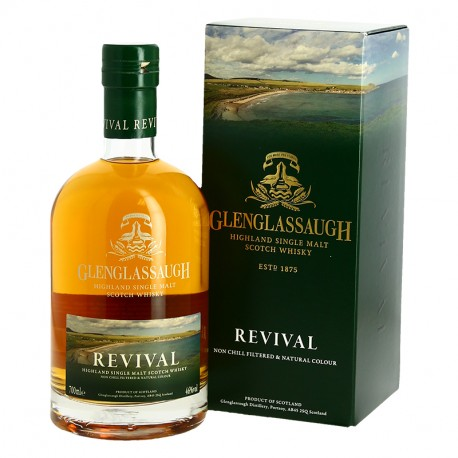 Glenglassaugh Revival Highland Single Malt Scotch Whisky