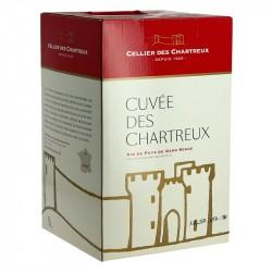 CELLIER des CHARTREUX Rouge BIB 5 Litres