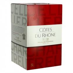 CELLIER des CHARTREUX Côtes du Rhône Rouge 5 L