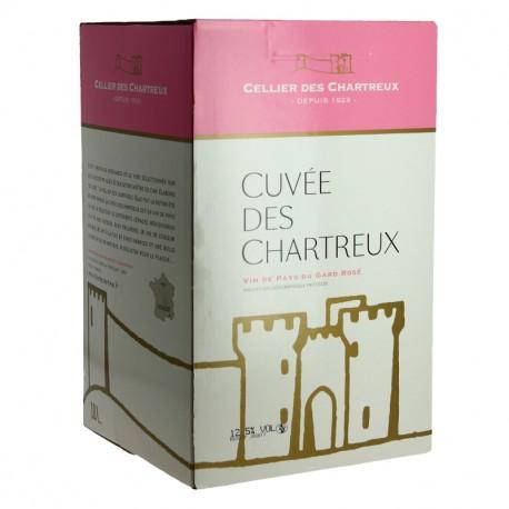 CELLIER des CHARTREUX Rosé BIB  10 litres