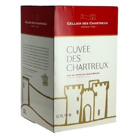 CELLIER des CHARTREUX Rouge BIB  10 litres
