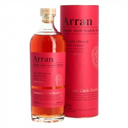Whisky ARRAN Finition en Fût de vin AMARONE 70 cl
