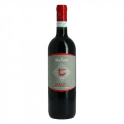 LA BRACCESCA SABAZIO Vin Rouge Italien MONTEPULCIANO 2014 75 cl