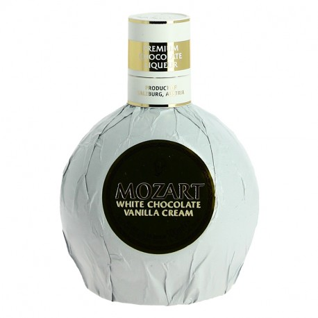 MOZART LIQUEUR White Chocolate Vanilla Cream