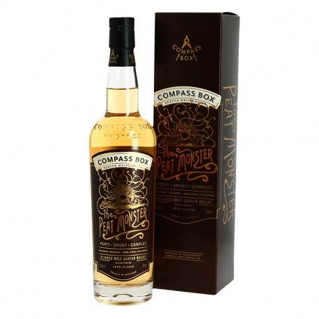 Blended Malt Whisky The PEAT MONSTER by Compass Box